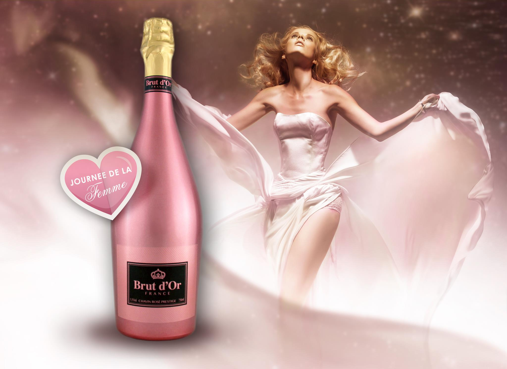 Brut d'or Pink