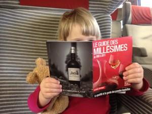 La passion du vin n'a pas d'age.