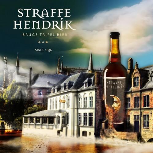 Straffe Hendrick, dernière bière brugeoise, est un vestige du temps au même titre que les vieilles pierres séculaires ornant la ville.