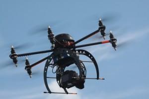 Le Drone Avina en action