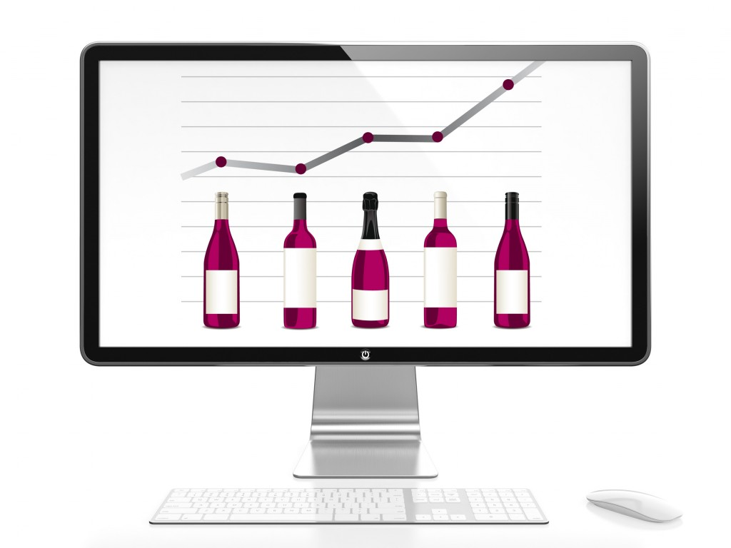 Les e-shoppers de vin