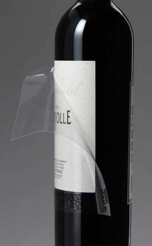 Label skin - etiquette vin