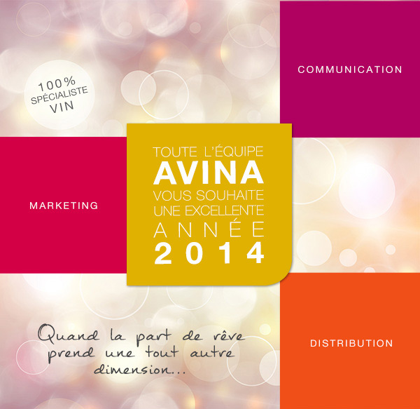 Carte de Vœux Avina 2014