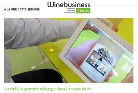 La réalité augmentée débarque dans le monde du vin