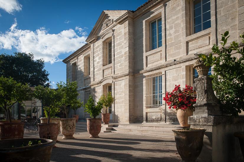 Château Puech Haut à Saint Drézery, 34. ©avina