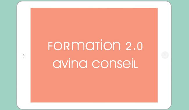 Présentation de la formation 2.0 de l'agence Avina conseil