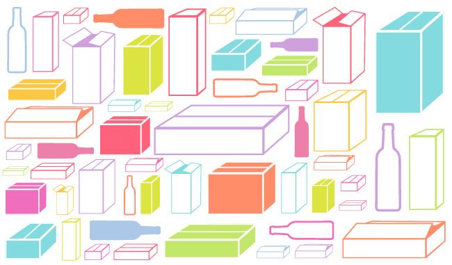 Le carton, conditionnement pratique et esthétique