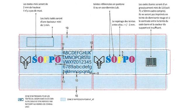 Exemple d'un cahier des charges flexographie sur combiné