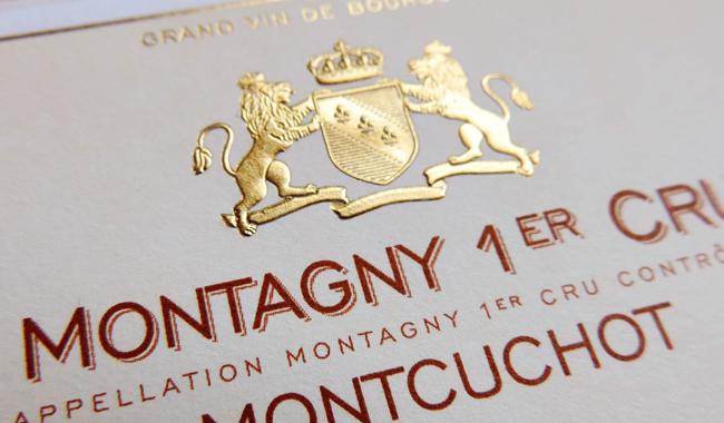 Etiquette Montagny premier cru