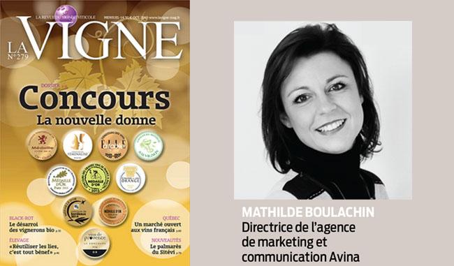 Mathilde Boulachin, directrice de l'agence Avina, interviewée par le magazine La Vigne