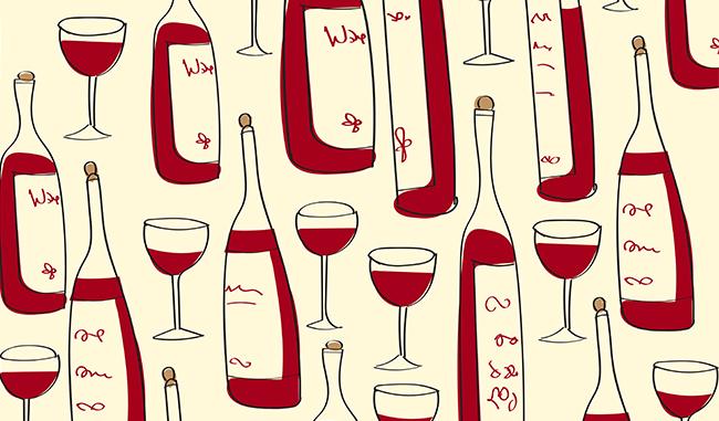 L'histoire de l'étiquette de vin