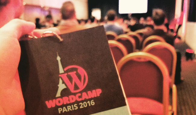 WordCamp Paris 2016